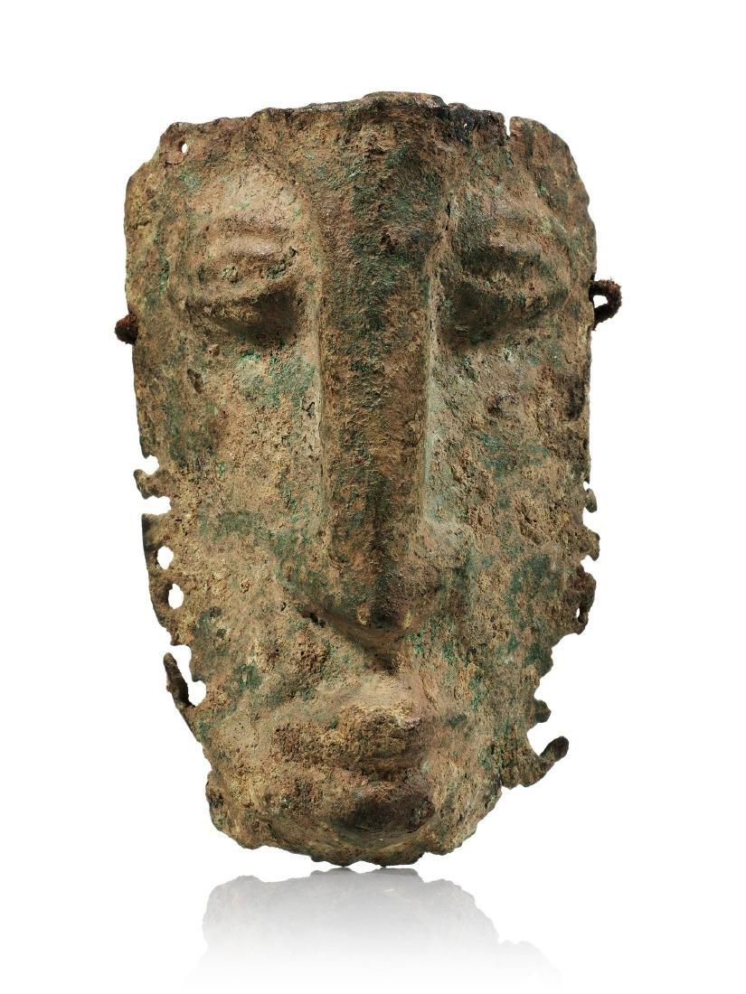 Miniaturmaske / Djenne / Bronze Mask