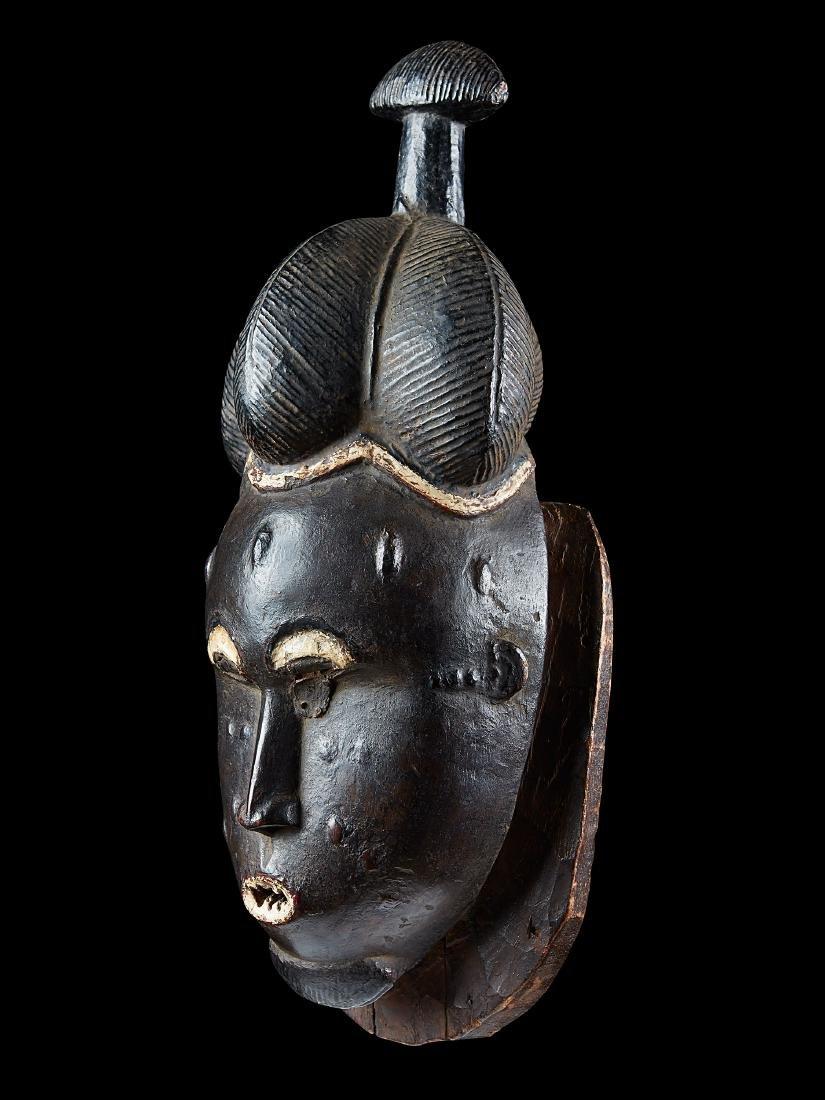 "Baule Maske, ""kpan"" / Baule ""kpan"" Mask"