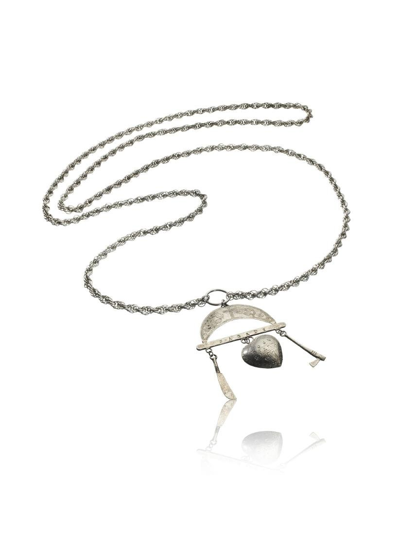 Silber-Collier / Silver Necklace