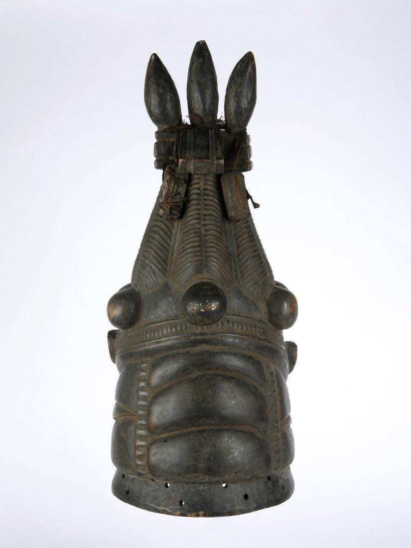 """Helm-Maske, """"sowei"""" - 6"""