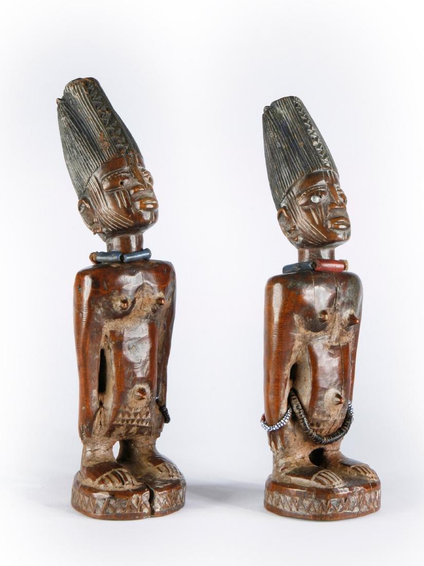 """Figurenpaar, """"ere ibeji"""" - 6"""