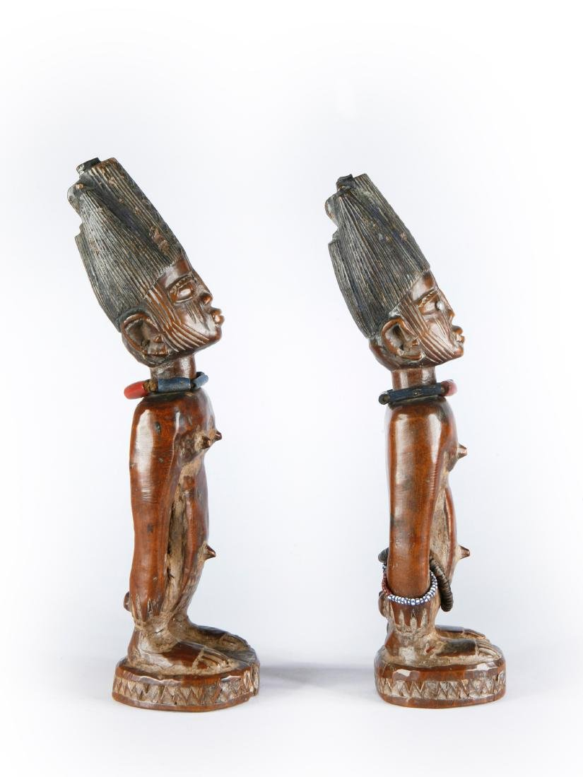 """Figurenpaar, """"ere ibeji"""" - 7"""
