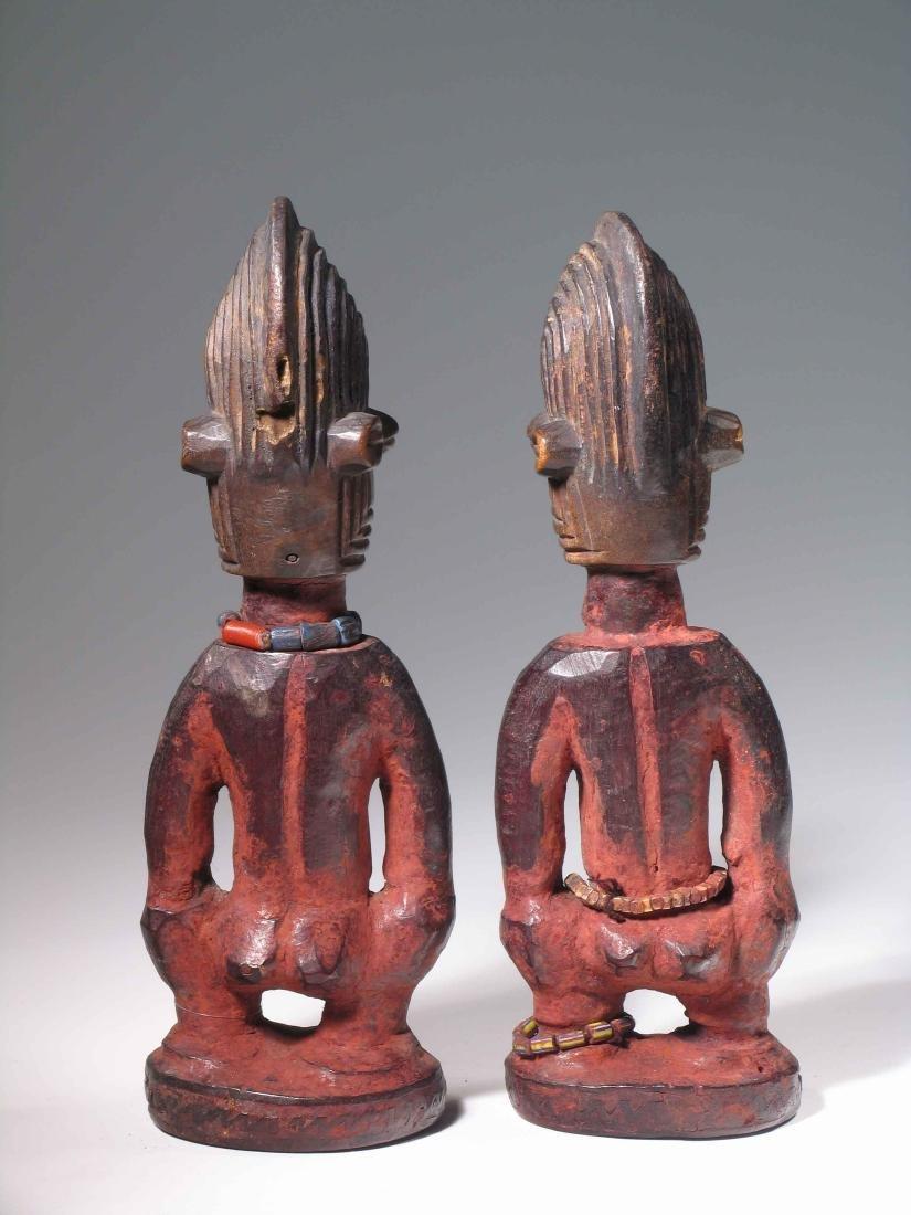 """Figurenpaar, """"ere ibeji"""" - 4"""