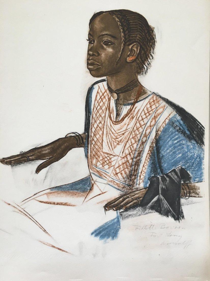 Alexander Jakowlew. Dessins et peintures d'Afrique. - 10