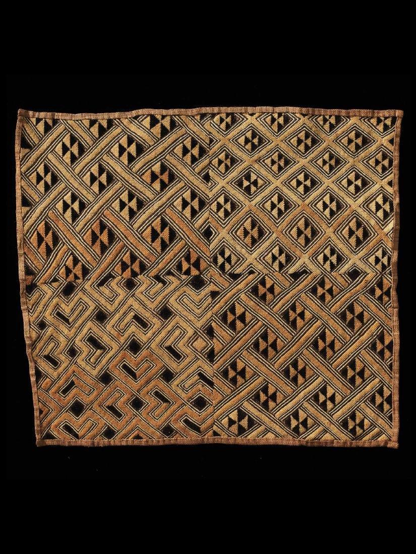 Raphia-Plüschgewebe / Kuba Velvet / Congo