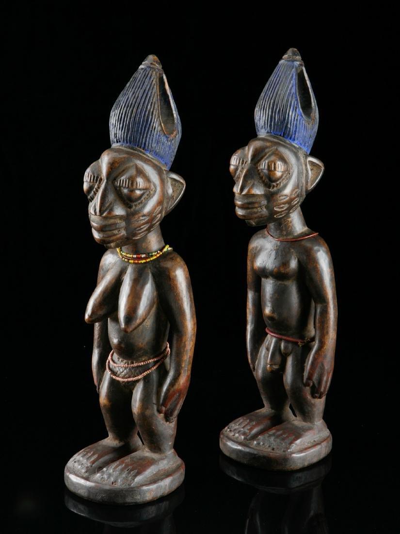 Ibeji-Figurenpaar, Kunstgewerbe