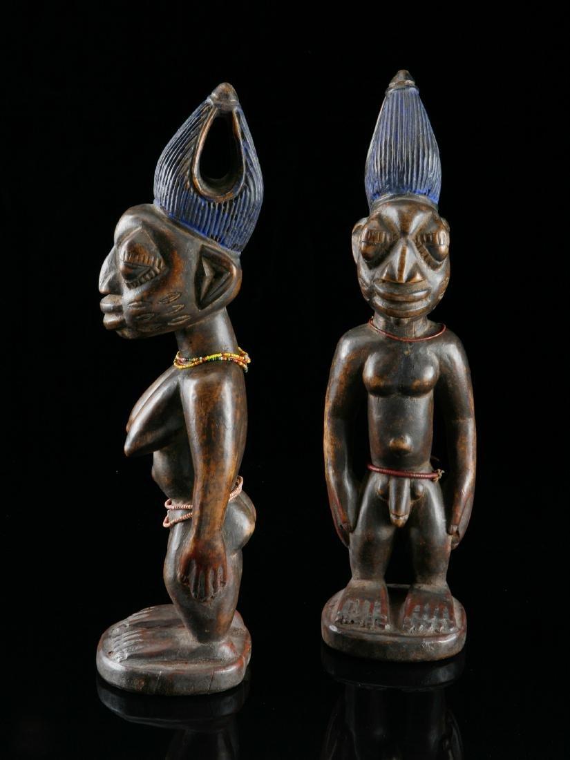 Ibeji-Figurenpaar, Kunstgewerbe - 2