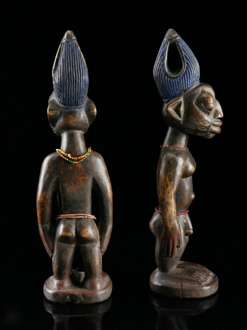 Ibeji-Figurenpaar, Kunstgewerbe - 3