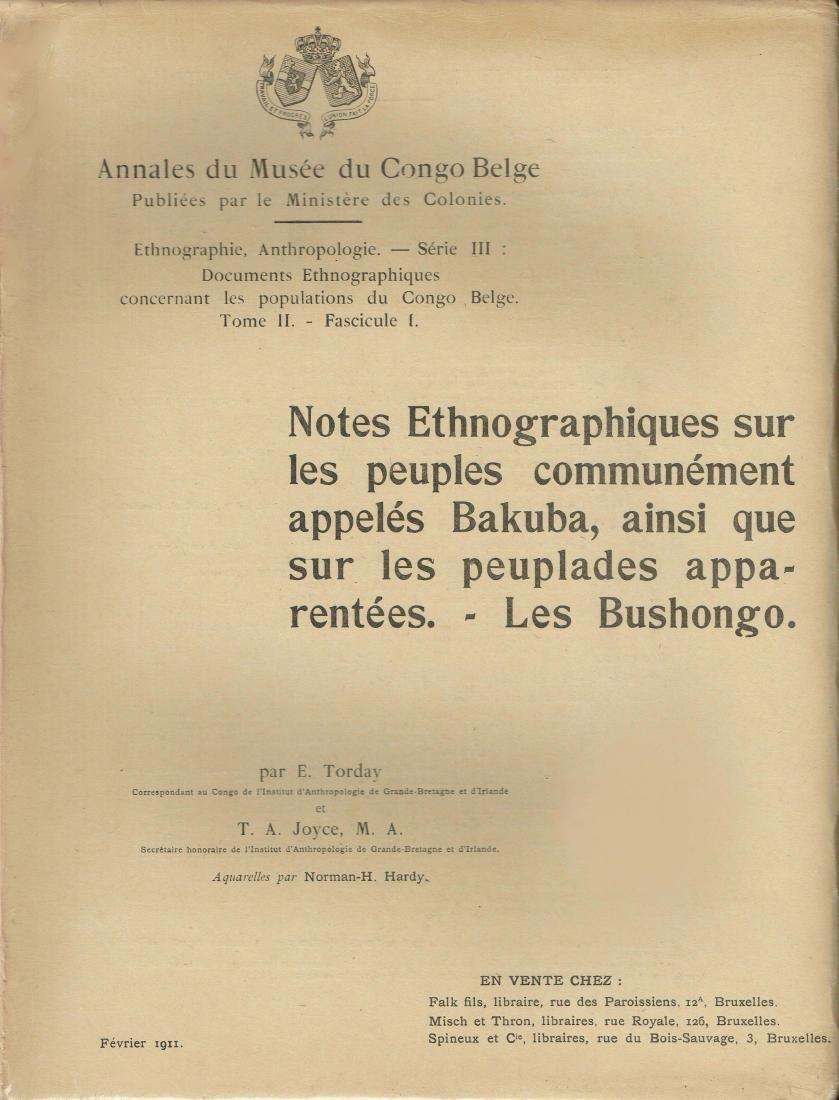 Annales du Musée du Congo Belge