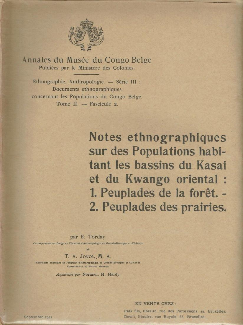 Annales du Musée du Congo Belge 1911