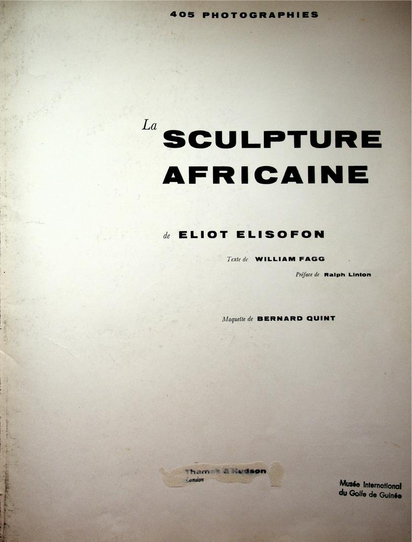 La sculpture africaine