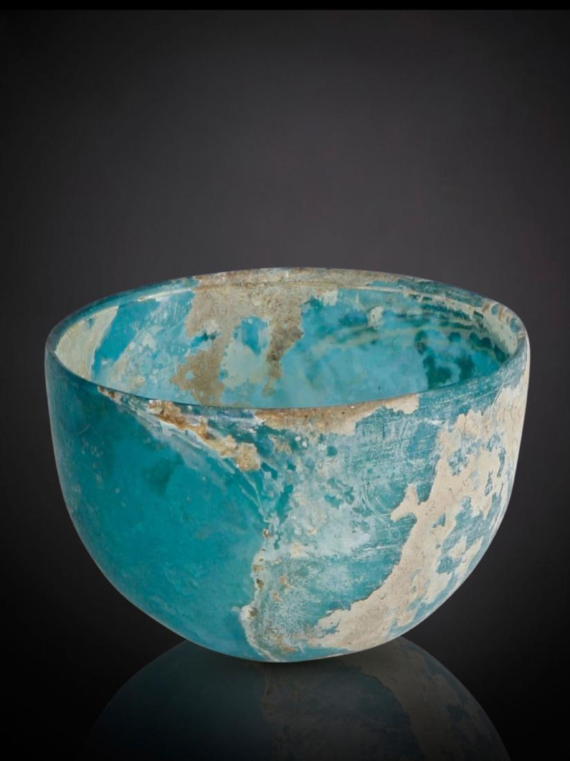 Glas-Schale
