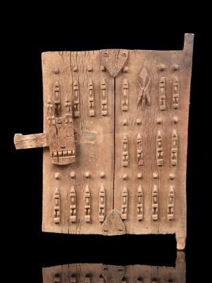 A Dogon Granary Door (African Art)