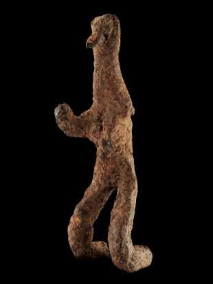 A Mossi (?) Iron Figure (Tribal Art)