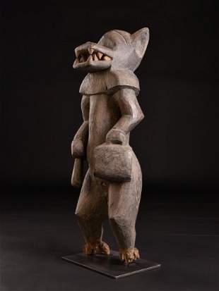 A Large and Unusual Senufo Figure