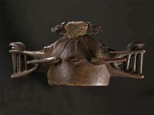 "A Senufo ""wanyugo"" Mask"