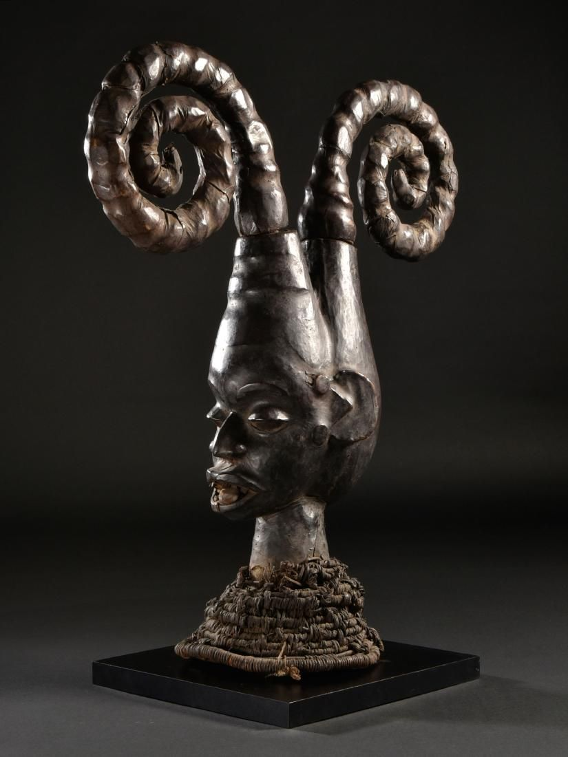 An Ekoi Headdress