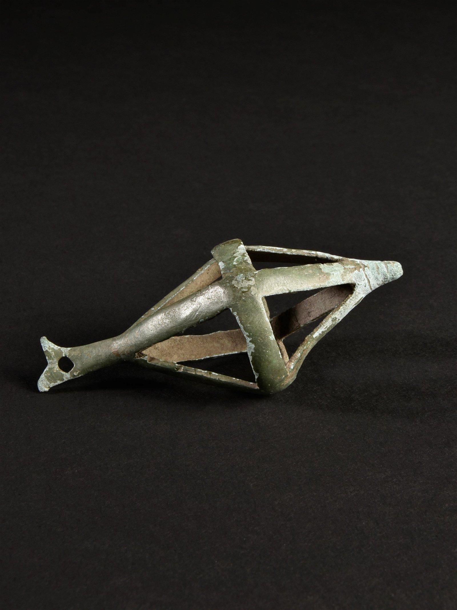 A Greek Bronze Pendant