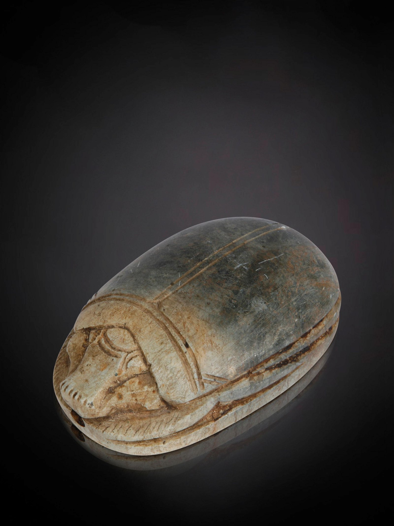 An Egyptian Scarab (probably not antique)