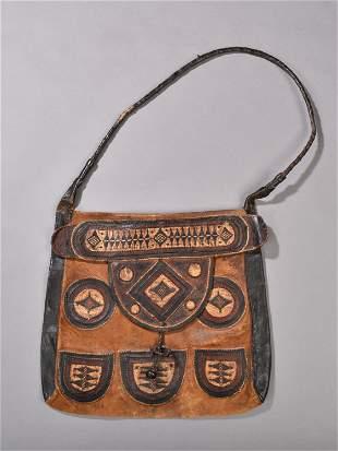A Tuareg Leather Bag