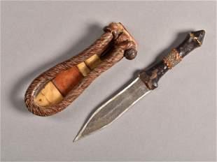 A Bariba Dagger with Sheath