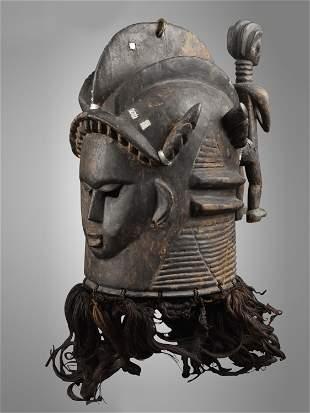 """A Mende Mask, """"soweï"""""""