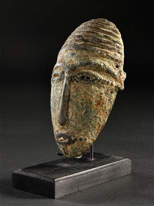 A Djenne Bronze Mask