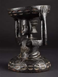 """Luba-Shankadi Seat, """"kipona"""""""