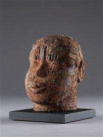 An Edo Terracotta Head