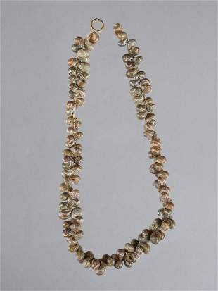 An Egyptian Snail-Shell Necklace