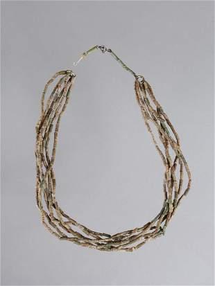 Glass Bead Necklace (Beads of a Mummy Net)
