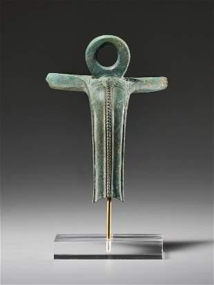 Handle of a Bronze Vessel (Ancient Greek Art)
