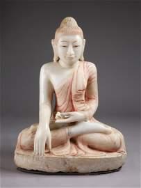 A Burmese Mandalay Buddha Statue, 18th Century /