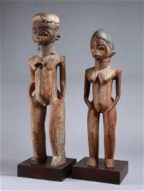 "A Lobi Pair of Figures, ""bùthìba thílkõtína"""