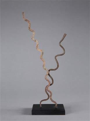 2 Lobi Iron Snakes, Leg Ornaments