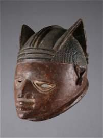 "A Yoruba Mask, ""gelede"""