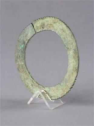 A Djenne Bronze Bracelet