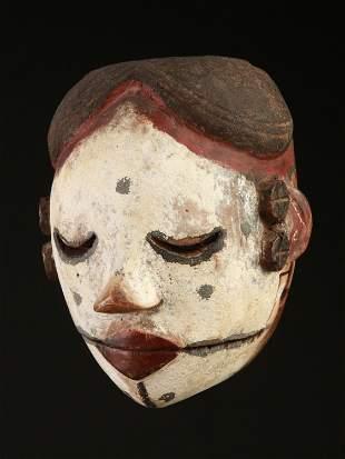 "An Ibibio/Ogoni Mask with articulated Jaw, ""elu"""