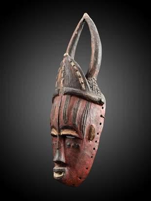 """An Urhobo Mask, """"oniedjo"""""""