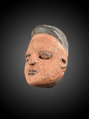 """An Ibibio Mask, """"elu"""""""
