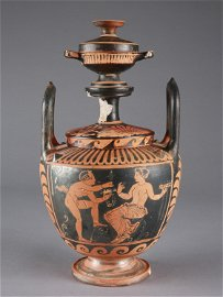 An Apulian Red-Figure Lebes Gamikos