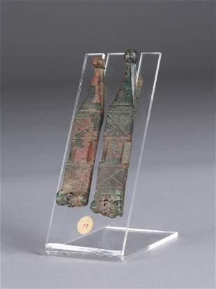 2 Roman Straps