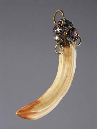An Indian Jewellery Pendant