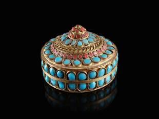 A Tibetan Trinket Box