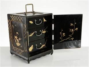 "A Japanese Lacquer Cabinet, ""kodansu"""