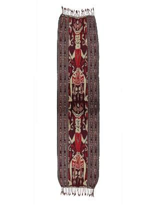 """A Sumba Textile, """"ikat"""""""