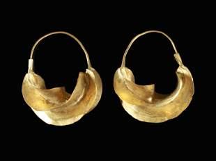 "A Peul Pair of Ear Ornaments, ""kwoteneye kange"""
