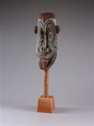 A Iatmul Head, Ceremonial Fence Element