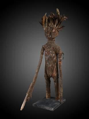 "A Senufo Figure, ""kafigeledio"""