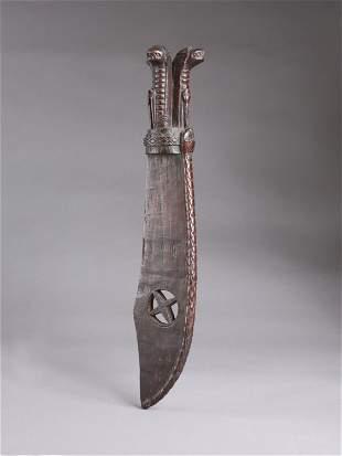 "A Woyo Knife, Insignia, ""cimpaba"""